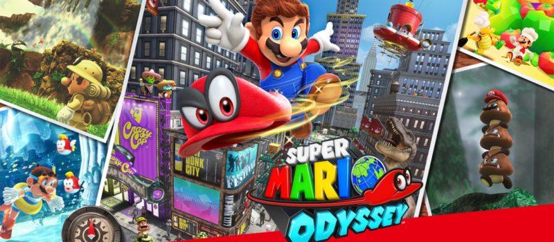 Mario Odyssey for Nintendo Switch