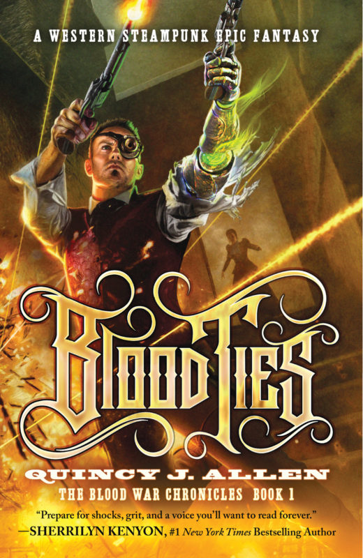 Blood Ties: Book 1 of Blood War Chronicles