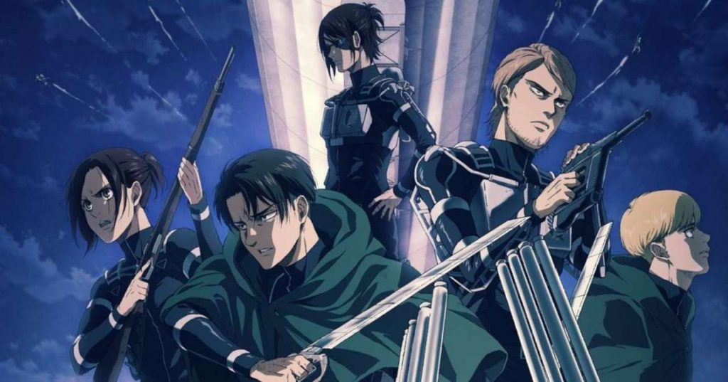 Attack on Titan, Season 4 - Out Now - Stories For Nerds